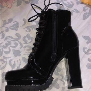 Sassy stopper lace u boots !!!!